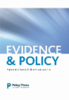Evidence and policy journal
